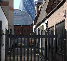 City of London from Brick Lane by Jasna