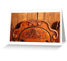 My Antique Chair Greeting Card
