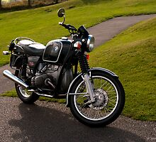 1974 BMW R75/6 by David J Knight
