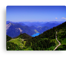 Karwendelgebirge Germany Canvas Print