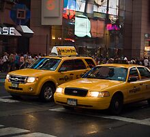 New York Taxis by dury