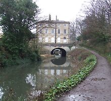 This is the 1st Tunnel on the Kennet and Avon Canal in Sydney Gardens.Bath by Dizzy-t