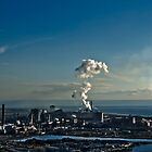 Rising Cloud - Port Talbot Steam by digihill
