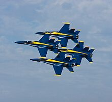 Blue Angels - Diamond Formation by Buckwhite