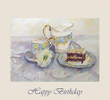 Birthday Tea by Patsy Smiles