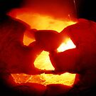 Happy Halloween Pumpkin 4: Sparks Fly by Steve