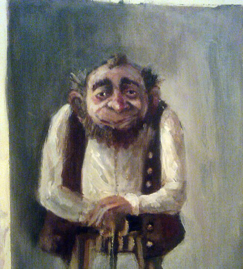 A dwarf,still in progress by MrLone