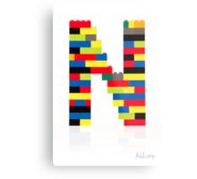 """""""N"""" Metal Print"""