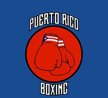 Puerto Rico Boxing by CreativoDesign
