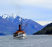 TSS Earnslaw Steamship by Martin  Brinsley