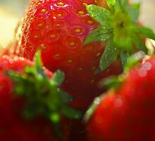 Strawberries by Ulla Jensen