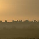 Castle in the fog by maumar70