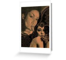 Lady Lace Greeting Card