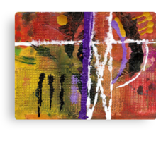 Tribal Dance Canvas Print