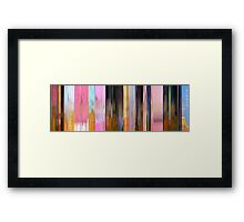 Moviebarcode: It's the Great Pumpkin, Charlie Brown (1966) Framed Print
