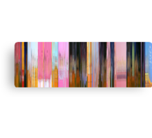 Moviebarcode: It's the Great Pumpkin, Charlie Brown (1966) Canvas Print