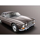 Jaguar XJ-6 Illustration by Autographics