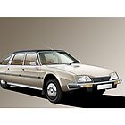 Citroen CX Prestige Illustration by Autographics