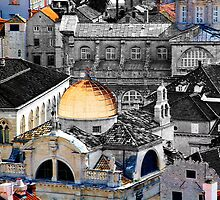 The Essence of Croatia - The Rooftops of Dubrovnik by Igor Shrayer