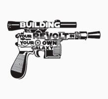 Gun Typography by Miltossavvides