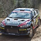 Rally Lancer Evo Drift by aclepsa
