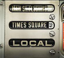 Times Square Local by Aleksandar Kolundzija