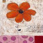 An orange daisy by Tine  Wiggens