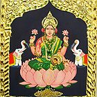 Goddess of wealth- Lakshmi by ramya kapula