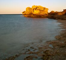 Point Perron at Sunrise 2 by Scott  Cook
