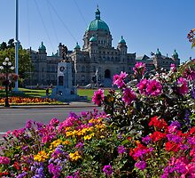 Canada. British Columbia. Victoria. Parliament. by vadim19