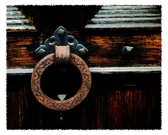 New World architecture, door handle to knowledge. by Bob Culver