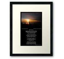 ~ This New Day ~ A collaboration with Paul Campbell ~ Framed Print
