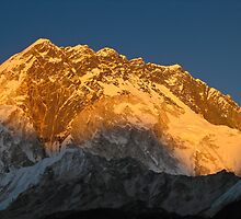 Himalayan Sunset by Dean Cunningham