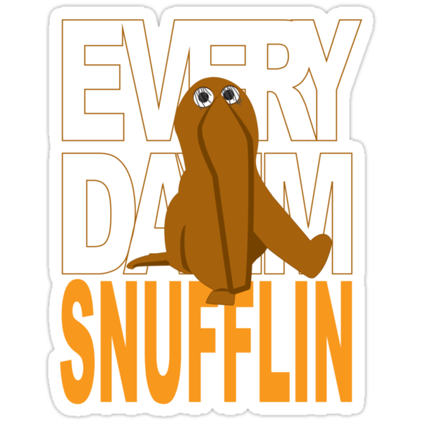 Every Day I'm Snufflin' by velocityimg