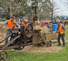 Baling Hay Corryong  201109171926  by Fred Mitchell