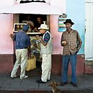 On The Streets Of Trinidad 2 by David Sundstrom