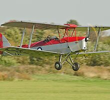 Tiger Moth at Shuttleworth by Barry Culling