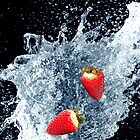 Strawberry Splash by MaShusik