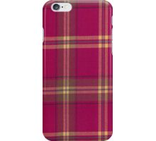Tartan Fabric Iphone Cover iPhone Case/Skin