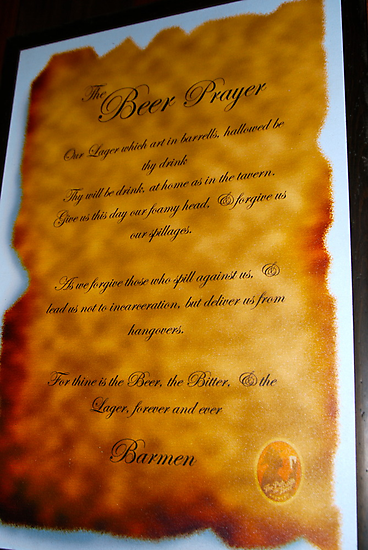 The Aussie Beer Prayer by Penny Smith