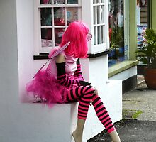 Lady in Pink by DavidFrench