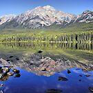 Pyramid Mountain Reflection by Teresa Zieba