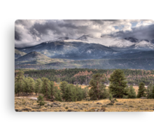 Rocky Mountain Cloudscape Canvas Print