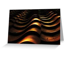 Rooftop Ripples Greeting Card