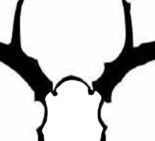 Deer Skull Sticker