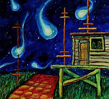 Oil Painting - The Arrival, 2009 by Igor Pozdnyakov