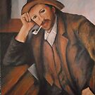 A Man Smoking from Paul Cezanne by Jsimone
