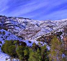 Mountain Colorado Chile by Daidalos