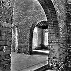Squires Castle - Inside  by Marcia Rubin