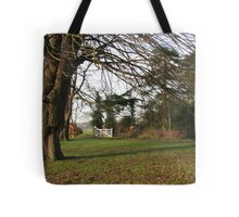 A Cold and Frosty Morning Tote Bag